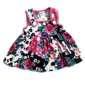 Vintage Carter's Floral Print Toddler Dress